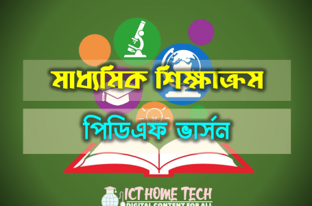 Secondary Bangla Curriculum